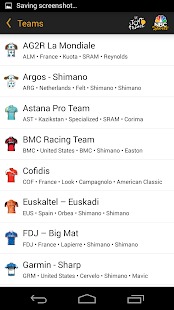 NBC Sports Tour de France Live - screenshot thumbnail