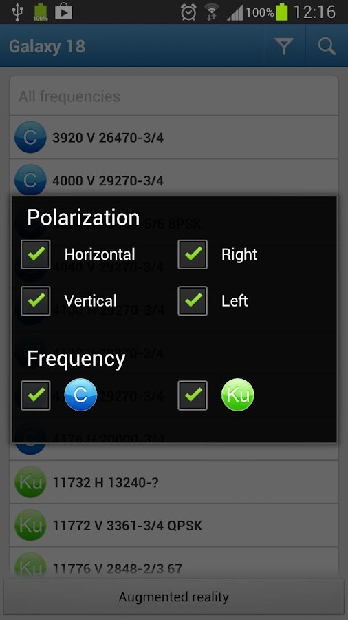 Satellite Finder AR- screenshot