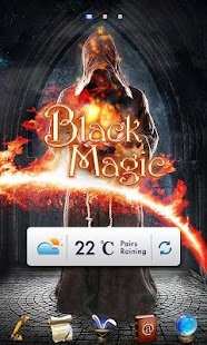 FREE BLACK MAGIC GO THEME