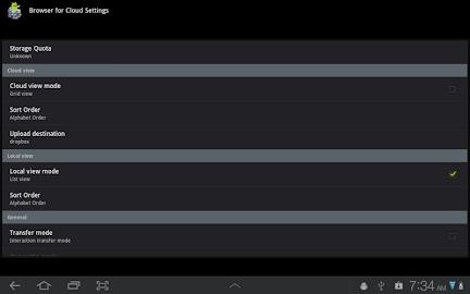 Browser for Cloud Screenshot 2