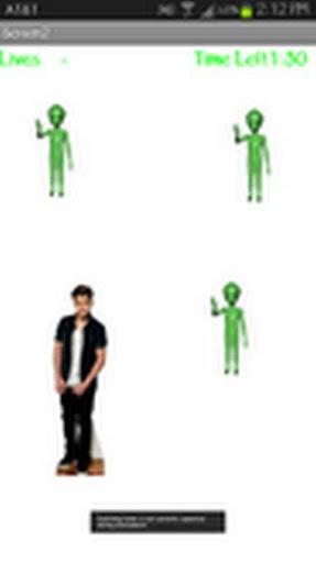 Celebrity Alien Avoider