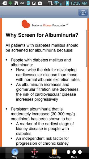 【免費醫療App】Screening for Albuminuria-APP點子