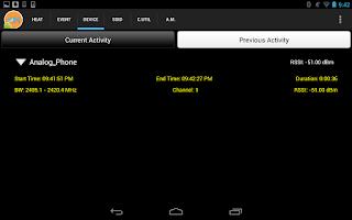 Screenshot of WiSense