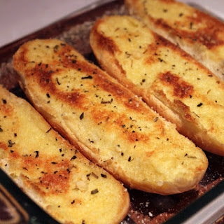 Light Garlic Bread