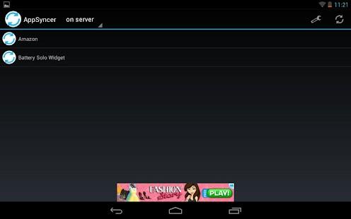 AppSyncer - screenshot thumbnail