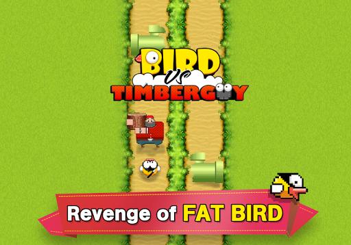 Bird vs Timber Guy