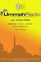 Screenshot of Ummah Radio