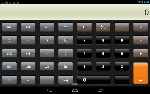 Hi Calculator - screenshot thumbnail