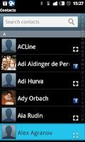 Screenshot of VMAS Mobile VoIP Application