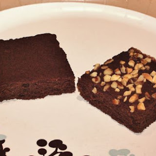 Black Soy Bean Brownies (Gluten Free/Low Carb).