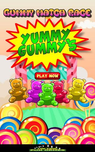 Toddler Gummy Color Match Race