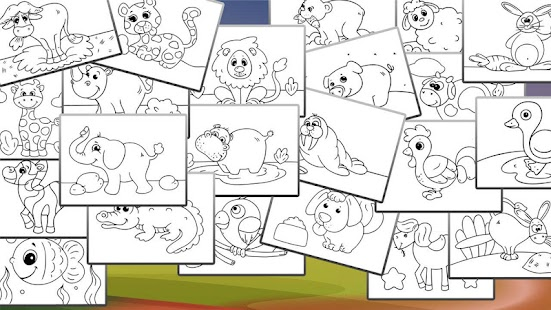 Animals Coloring Book For Kids Screenshot Thumbnail