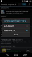 Screenshot of Headset Ringtone Manager Lite