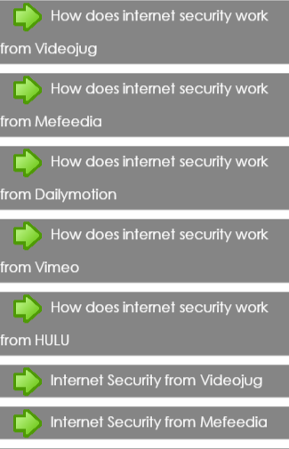 How to Internet Security