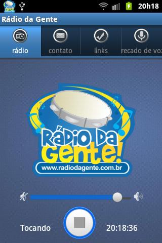 Rádio da Gente - screenshot
