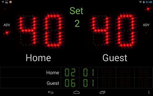 Scoreboard +++ - screenshot thumbnail