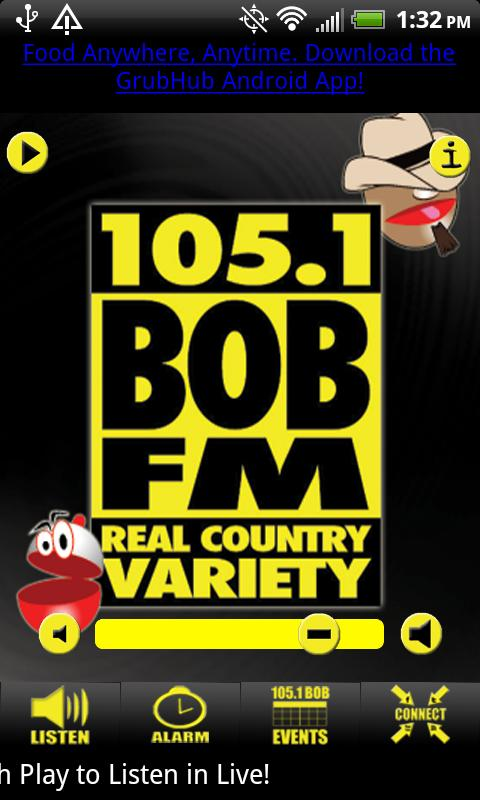 KOMG 105.1 Bob FM - screenshot