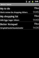Screenshot of Better Notepad