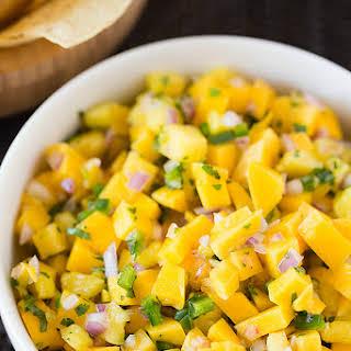 Mango-Pineapple Salsa.