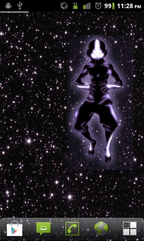 Spirit Aang Live Wallpaper - screenshot