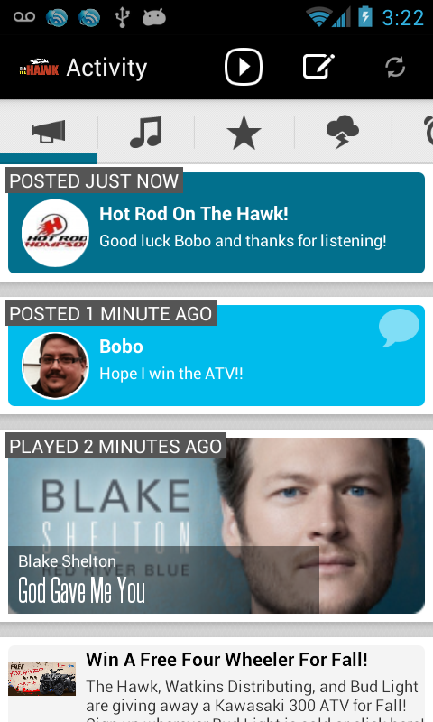 Radio To Go- screenshot