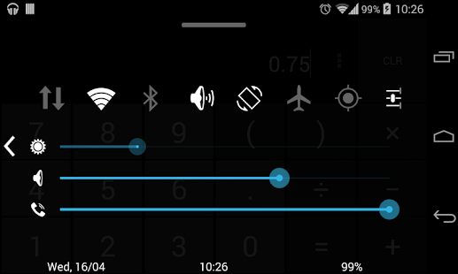 Quick Control Panel - screenshot thumbnail