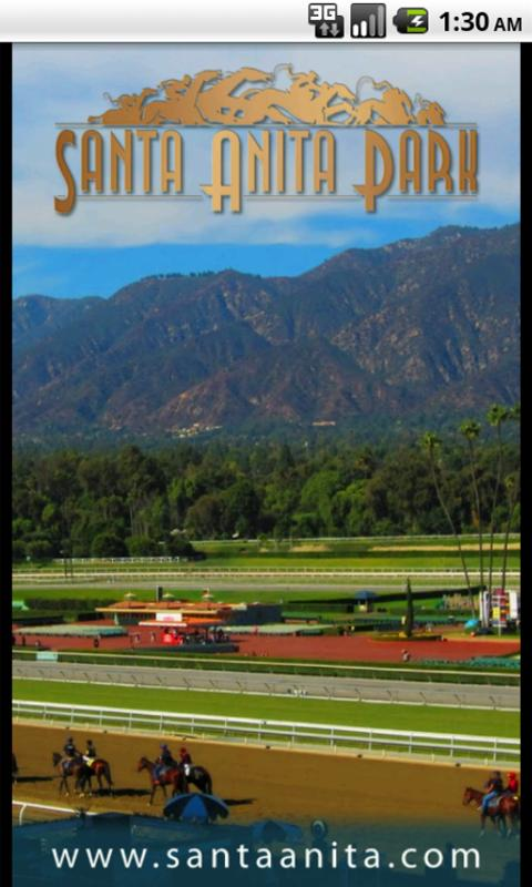Santa Anita Mobile - screenshot