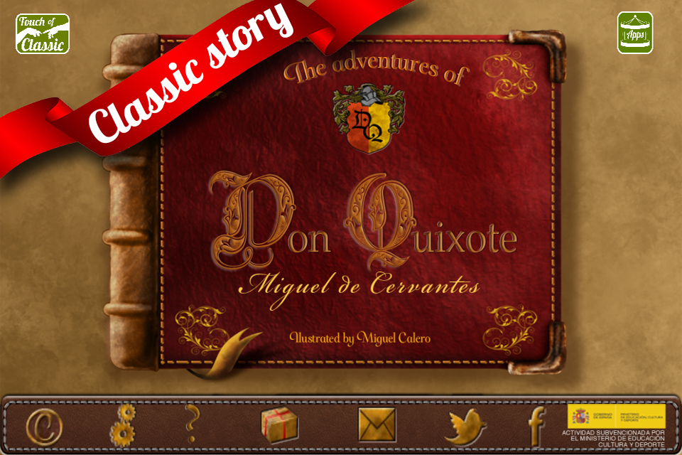The adventures of Don Quixote- screenshot