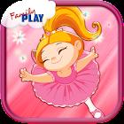 Bailarina Niños Juegos Gratis icon