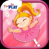 Ballerina Kids Games Free !