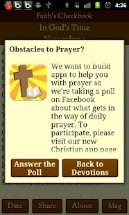 Faith's Checkbook Devotional - screenshot thumbnail