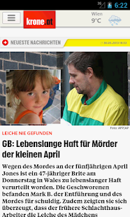 Krone.at - screenshot thumbnail