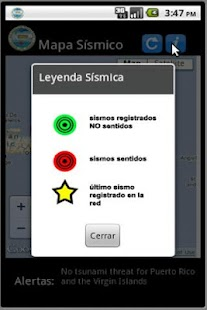 Red Sismica de Puerto Rico - screenshot thumbnail