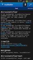 Screenshot of IrssiNotifier