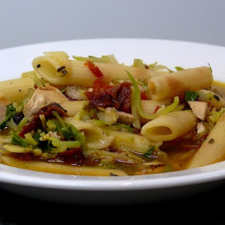 Leftover Penne Pasta Soup.