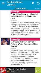 Celebrity News - screenshot thumbnail
