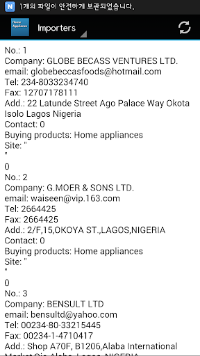 玩書籍App|Nigeria Home appliance Buyers免費|APP試玩