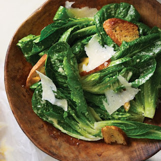 Caesar Salad with Baby Romaine