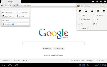 Maxthon Browser - Fast Screenshot 5