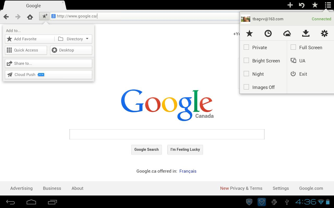 Maxthon Web Browser - Fast - screenshot