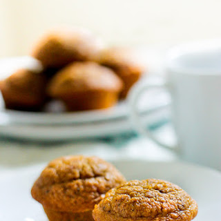 Healthy Pumpkin Muffins