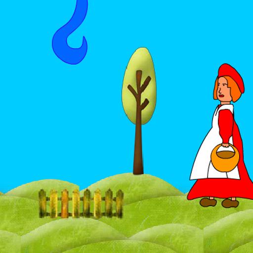 Красная шапочка - русская игра