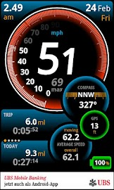 Ulysse Speedometer Screenshot 3