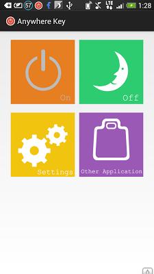 Anywhere Key(no root) - screenshot