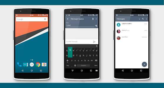 Flat colors CM12 Theme v2.9