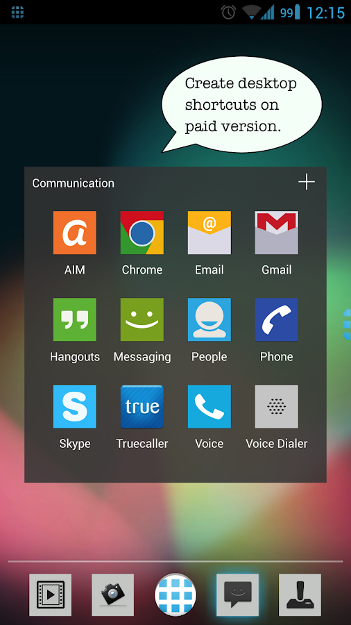 App Launcher+ (Auto Organizer) - screenshot