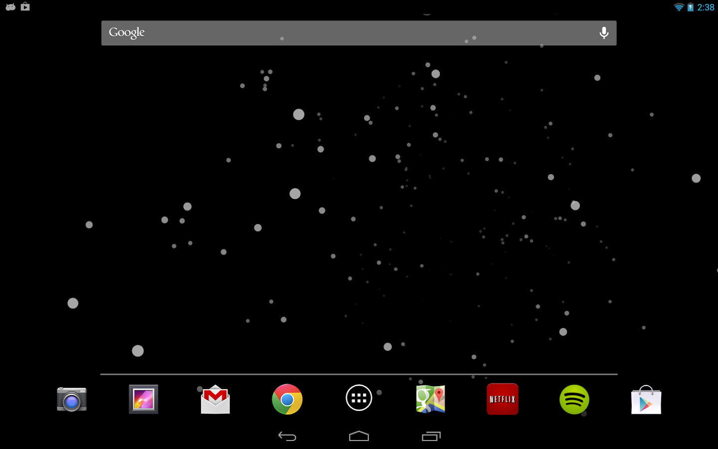 Starfield (Live) Wallpaper - screenshot