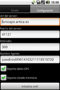 Pandroid: Pandora FMS Agent- screenshot thumbnail