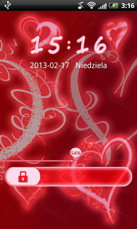 GO Locker Lovely Sweet Hearts - screenshot