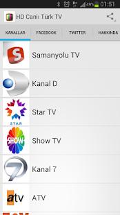 HD Canlı Türk TV Yeni